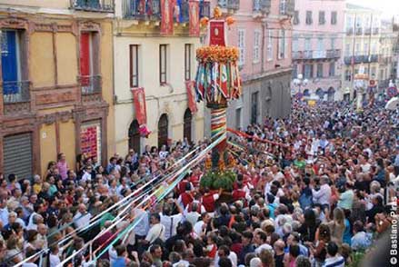 La discesa dei Candelieri a Sassari