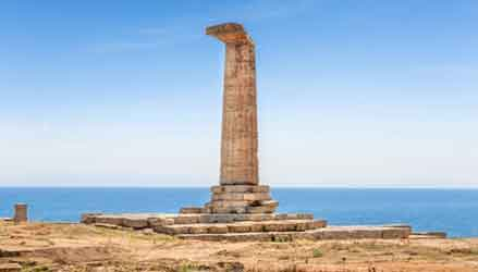 Capo Colonnna è uno dei luoghi simbolo della Magna Grecia
