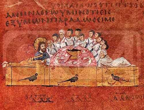 Museo Diocesano di Rossano Calabro: Codex Puerpureus Rossanensis.