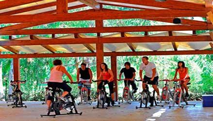 Area fitness al Calaserena Village