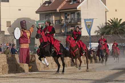 Il Palio dei Normanni: la Giostra del Saraceno