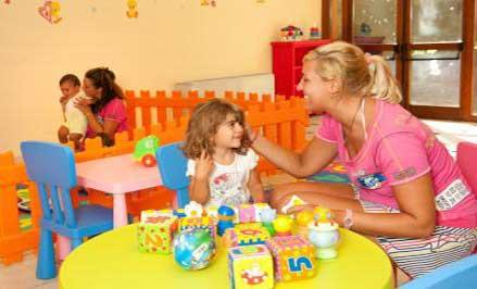 La nursery al Calaserena Village di Villasimius