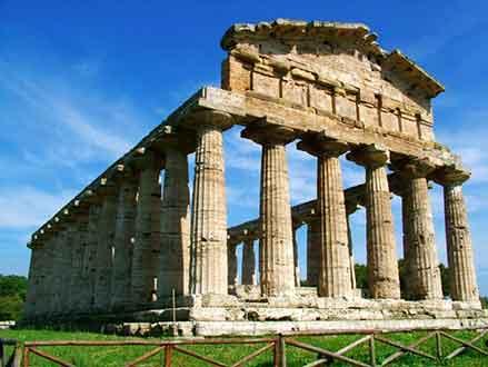 Il Tempio di Cerere a Paestum