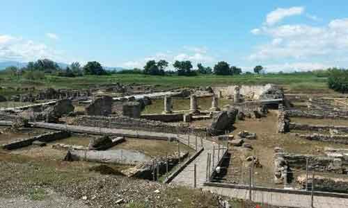 Il Parco Archeologico di Sibari.
