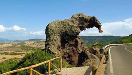 La Roccia dell'Elefante a Castel Sardo