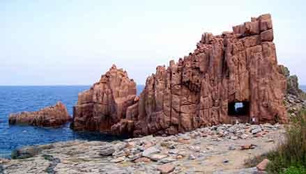 Arbatax: Spiaggia Rocce Rosse